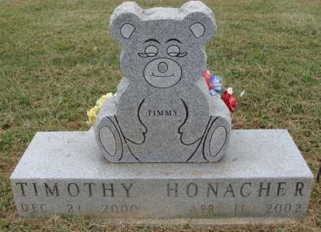 HONACHER, TIMOTHY - Meigs County, Ohio | TIMOTHY HONACHER - Ohio Gravestone Photos