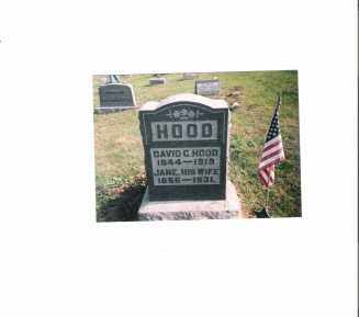 HOOD, DAVID CURTIS - Meigs County, Ohio | DAVID CURTIS HOOD - Ohio Gravestone Photos