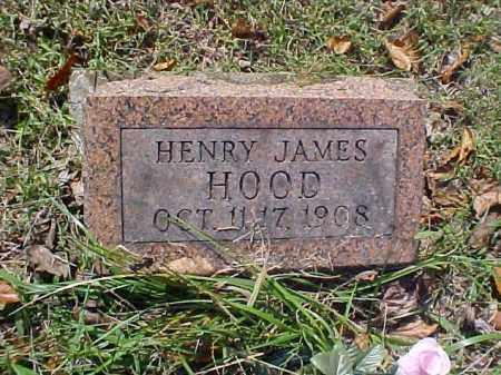 HOOD, HENRY JAMES - Meigs County, Ohio | HENRY JAMES HOOD - Ohio Gravestone Photos
