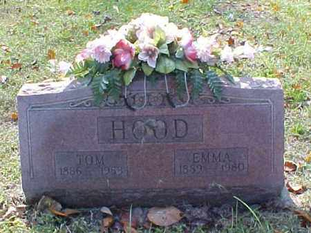 HOOD, EMMA - Meigs County, Ohio | EMMA HOOD - Ohio Gravestone Photos