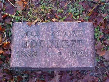 HOODLETT, ULA - Meigs County, Ohio | ULA HOODLETT - Ohio Gravestone Photos