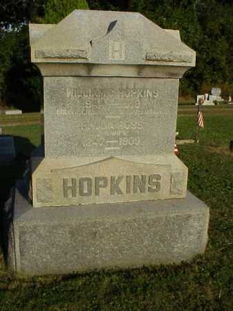 HOPKINS, WILLIAM GOLDEN - Meigs County, Ohio | WILLIAM GOLDEN HOPKINS - Ohio Gravestone Photos