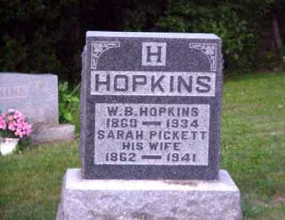 HOPKINS, W. B. - Meigs County, Ohio | W. B. HOPKINS - Ohio Gravestone Photos