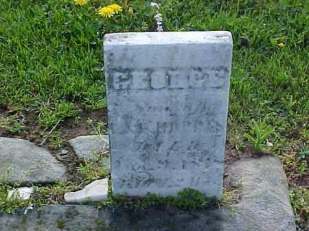 HOPPES, GEORGE - Meigs County, Ohio   GEORGE HOPPES - Ohio Gravestone Photos