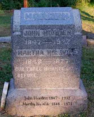 HORDEN, JOHN - Meigs County, Ohio | JOHN HORDEN - Ohio Gravestone Photos