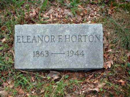 HORTON, ELEANOR F. - Meigs County, Ohio | ELEANOR F. HORTON - Ohio Gravestone Photos