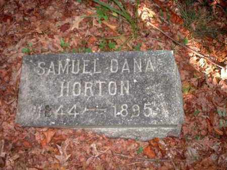 HORTON, SAMUEL DANA - Meigs County, Ohio | SAMUEL DANA HORTON - Ohio Gravestone Photos