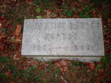 HORTON, VALENTINE BAXTER - Meigs County, Ohio | VALENTINE BAXTER HORTON - Ohio Gravestone Photos
