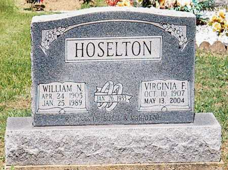 HOSELTON, WILLIAM N. - Meigs County, Ohio | WILLIAM N. HOSELTON - Ohio Gravestone Photos