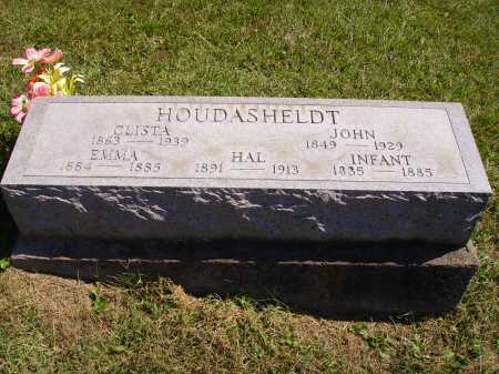 HOUDASHELDT, CLISTA - Meigs County, Ohio | CLISTA HOUDASHELDT - Ohio Gravestone Photos