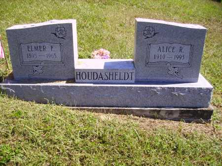 HOUDASHELDT, ALICE ROMONA - Meigs County, Ohio | ALICE ROMONA HOUDASHELDT - Ohio Gravestone Photos