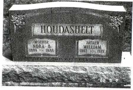 HOUDASHELT, WILLIAM - Meigs County, Ohio | WILLIAM HOUDASHELT - Ohio Gravestone Photos