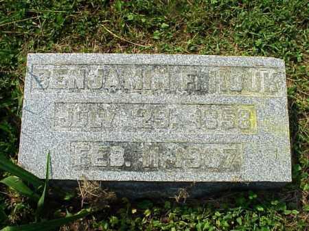 HOUK, BENJAMIN F. - Meigs County, Ohio | BENJAMIN F. HOUK - Ohio Gravestone Photos
