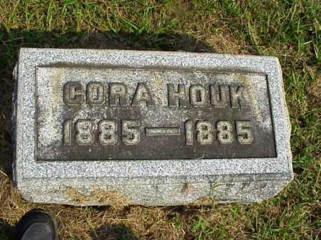 HOUK, CORA - Meigs County, Ohio | CORA HOUK - Ohio Gravestone Photos