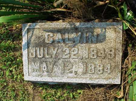 HOUK, CALVIN - Meigs County, Ohio | CALVIN HOUK - Ohio Gravestone Photos