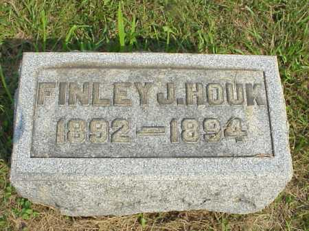 HOUK, FINLEY J. - Meigs County, Ohio | FINLEY J. HOUK - Ohio Gravestone Photos