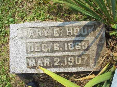 HOUK, MARY E. - Meigs County, Ohio | MARY E. HOUK - Ohio Gravestone Photos