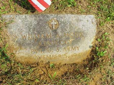 HOUK, WILLIAM - Meigs County, Ohio | WILLIAM HOUK - Ohio Gravestone Photos