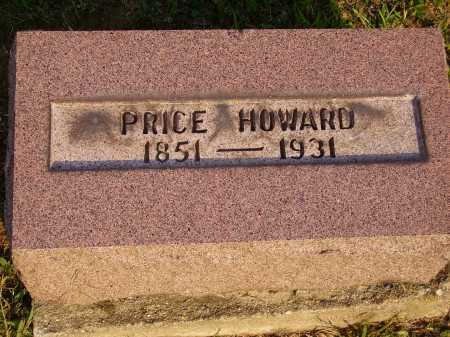 HOWARD, PRICE - Meigs County, Ohio | PRICE HOWARD - Ohio Gravestone Photos