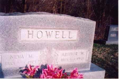 HOWELL, ARTHUR W - Meigs County, Ohio | ARTHUR W HOWELL - Ohio Gravestone Photos