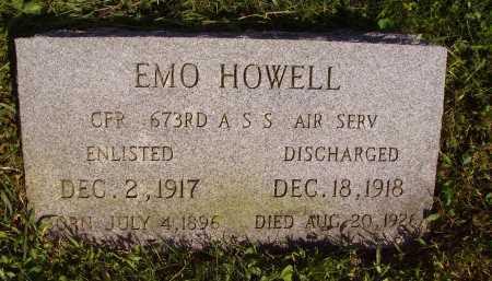 HOWELL, EMO - Meigs County, Ohio | EMO HOWELL - Ohio Gravestone Photos