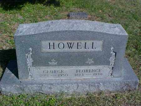HOWELL, FLORENCE - Meigs County, Ohio | FLORENCE HOWELL - Ohio Gravestone Photos