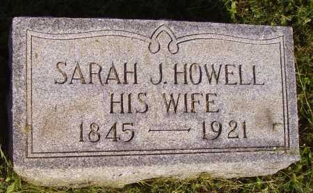 HOWELL, SARAH - Meigs County, Ohio | SARAH HOWELL - Ohio Gravestone Photos