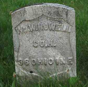 HOWELL, WM. W. - Meigs County, Ohio | WM. W. HOWELL - Ohio Gravestone Photos