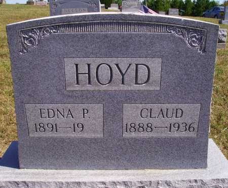 HOYD, EDNA P. - Meigs County, Ohio | EDNA P. HOYD - Ohio Gravestone Photos