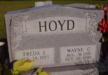 HOYD, FREDA L. - Meigs County, Ohio | FREDA L. HOYD - Ohio Gravestone Photos