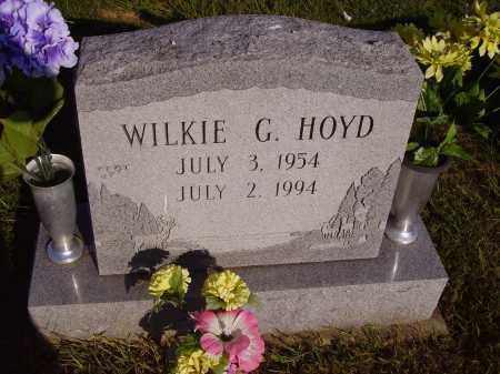 HOYD, WILKIE G. - Meigs County, Ohio | WILKIE G. HOYD - Ohio Gravestone Photos