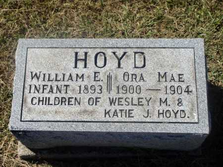 HOYD, WILLIAM E. - Meigs County, Ohio | WILLIAM E. HOYD - Ohio Gravestone Photos