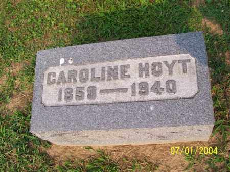 HOYT, CAROLINE - Meigs County, Ohio | CAROLINE HOYT - Ohio Gravestone Photos