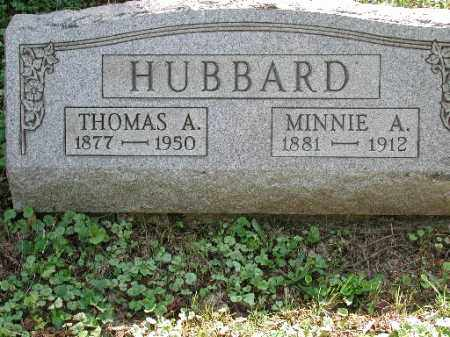 HUBBARD, THOMAS A. - Meigs County, Ohio | THOMAS A. HUBBARD - Ohio Gravestone Photos
