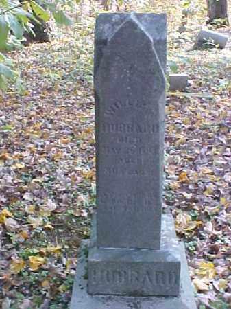 HUBBARD, WILLIAM - Meigs County, Ohio   WILLIAM HUBBARD - Ohio Gravestone Photos