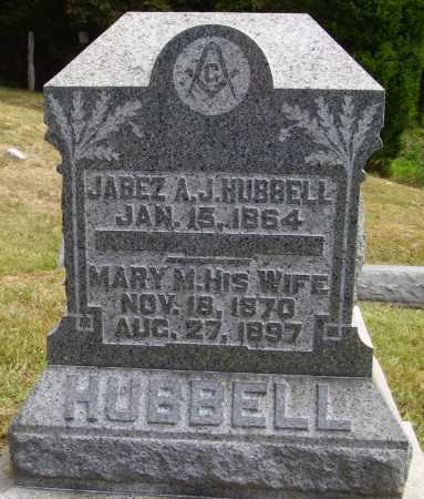 HUBBELL, JABEZ A. - Meigs County, Ohio | JABEZ A. HUBBELL - Ohio Gravestone Photos