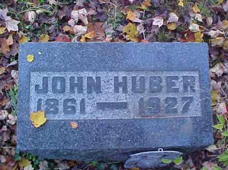 HUBER, JOHN - Meigs County, Ohio | JOHN HUBER - Ohio Gravestone Photos