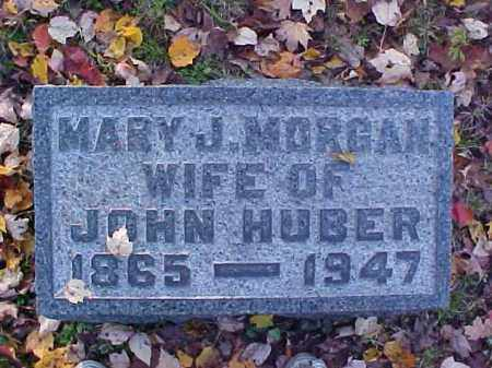 MORGAN HUBER, MARY J. - Meigs County, Ohio | MARY J. MORGAN HUBER - Ohio Gravestone Photos