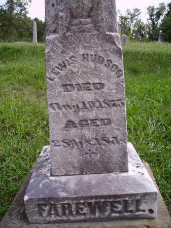 HUDSON, LEWIS - CLOSEVIEW - Meigs County, Ohio | LEWIS - CLOSEVIEW HUDSON - Ohio Gravestone Photos