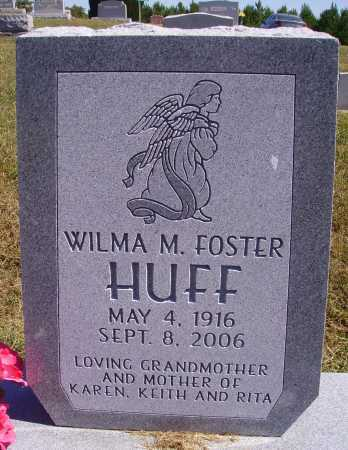 HUFF, WILMA M. - Meigs County, Ohio | WILMA M. HUFF - Ohio Gravestone Photos