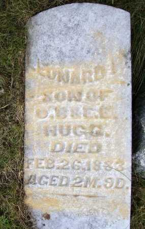 HUGG, CONRAD - Meigs County, Ohio | CONRAD HUGG - Ohio Gravestone Photos