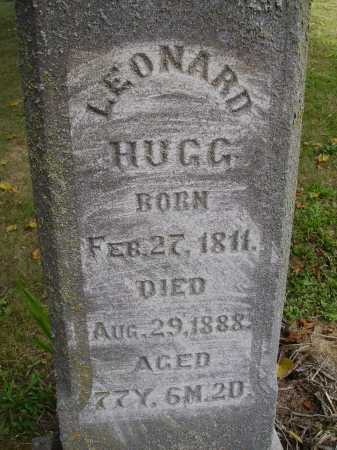 HUGG, LEONARD - CLOSE VIEW - Meigs County, Ohio | LEONARD - CLOSE VIEW HUGG - Ohio Gravestone Photos