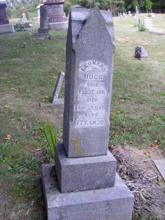 HUGG, LEONARD - OVERALL VIEW - Meigs County, Ohio   LEONARD - OVERALL VIEW HUGG - Ohio Gravestone Photos