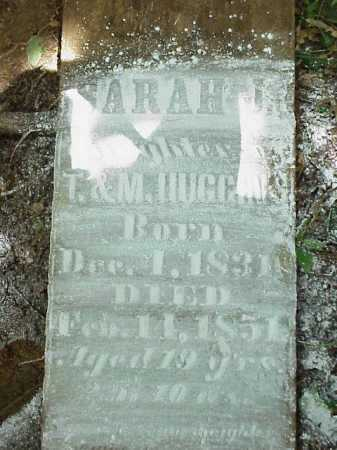 HUGGINS, SARAH J - Meigs County, Ohio | SARAH J HUGGINS - Ohio Gravestone Photos