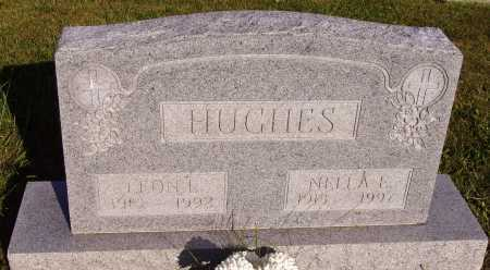 HUGHES, LEON E. - Meigs County, Ohio | LEON E. HUGHES - Ohio Gravestone Photos