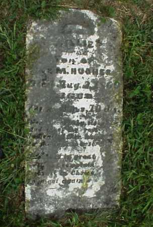 HUGHES, WILLIE - Meigs County, Ohio | WILLIE HUGHES - Ohio Gravestone Photos