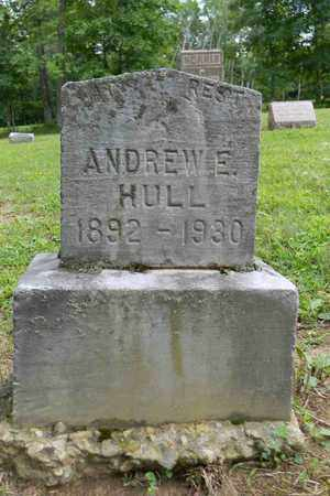 HULL, ANDREW E. - Meigs County, Ohio | ANDREW E. HULL - Ohio Gravestone Photos