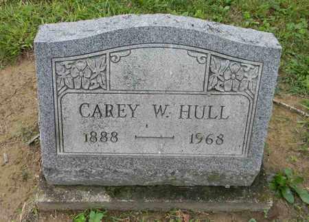 HULL, CAREY W. - Meigs County, Ohio | CAREY W. HULL - Ohio Gravestone Photos
