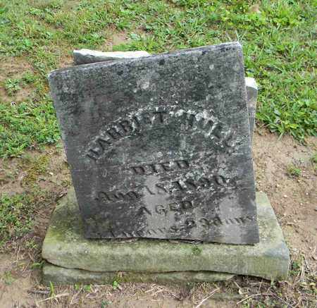 HULL, HARRIET - Meigs County, Ohio | HARRIET HULL - Ohio Gravestone Photos
