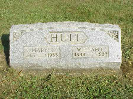 HULL, MARY J. - Meigs County, Ohio | MARY J. HULL - Ohio Gravestone Photos